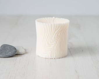 Natural Soy Wax Pillar Candle, Unscented Candle, Wedding Candle, Vegan Friendly