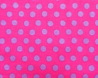 Kaffe Fassett - Spots GP70 Shocking - Quilt Fabric - 1/2 Yard Cotton Quilt fabric 516