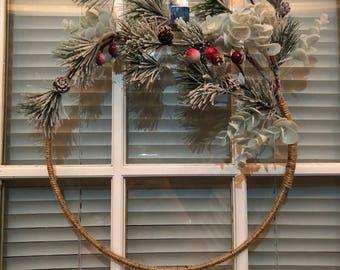 Handmade Modern Wreath