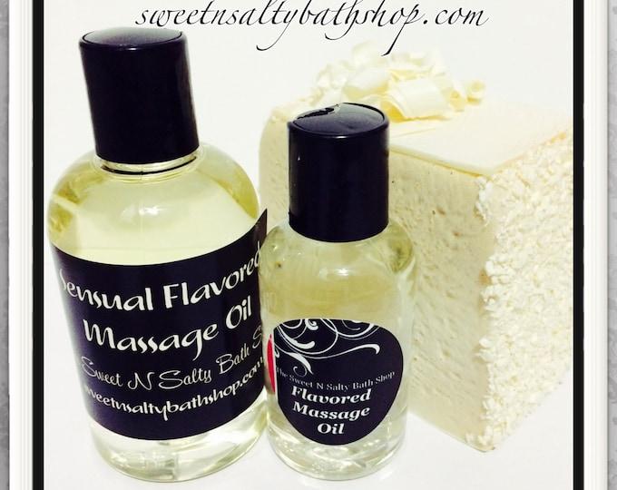 Wedding Cake Flavored Massage Oil