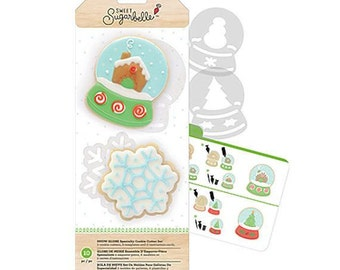 Snow Globe Cookie Cutters, Christmas Cookie Cutters, Sweet Sugarbelle Cookie Cutter Kit, Snowflake Cookie Cutter, Christmas Biscuit Cutters