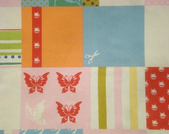 SALE : MoMo Wonderland Mad Hatter sugar moda fabrics FQ or more