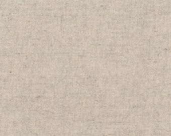 Natural  Linen Fabric, Brussels Washer Linen, Robert Kaufman Fabric, washable linen fabric