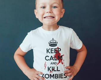 walking dead inspired  Kids  T-Shirt, Childrens Toddlers T Shirt Top.
