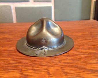 Roycroft Doughboy Copper Hat