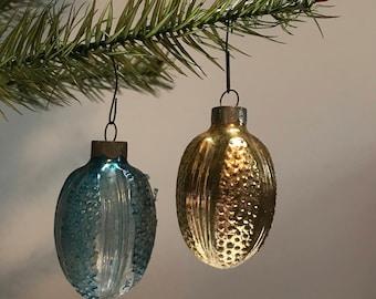 Pair of Vintage US Ornaments
