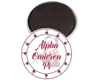 Alpha Omicron Pi Magnet