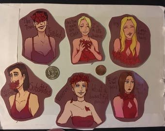 Deadly Premonition Goddess Stickers