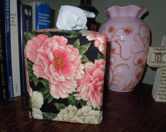"Ready To Ship - ""Empress Flower Collection"" - Tissue Box Cover"