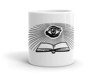 All seeing eye coffee Mug made in the USA