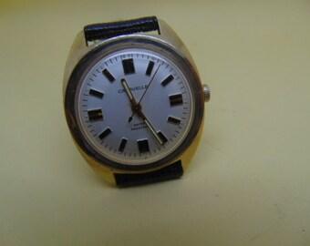 Mens Bulova Caravelle Mechanical Watch 1974, Running, Looks Great