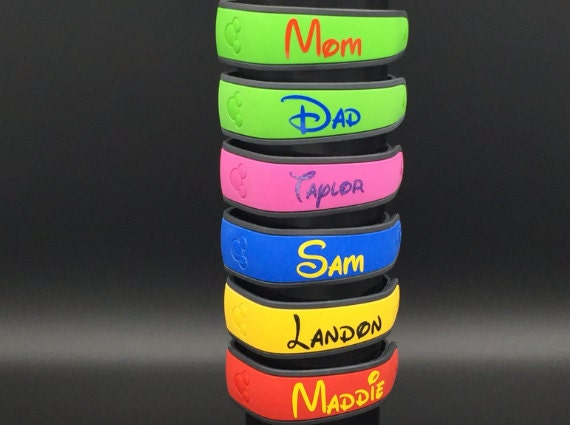 Magic Band Stickers Etsy
