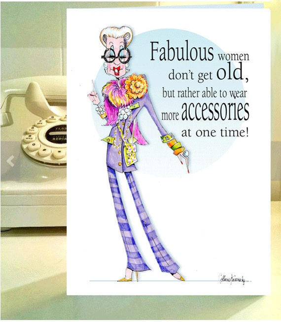Happy Birthday Funny For Women Sexy Iris Apfel Funny Woman...