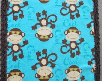 Fleece Blanket Cool Monkey