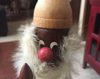 Vintage teakwood Viking from Denmark.