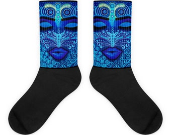 Socks with art by Ariah Design