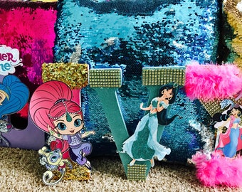 Shimmer and Shine Letters