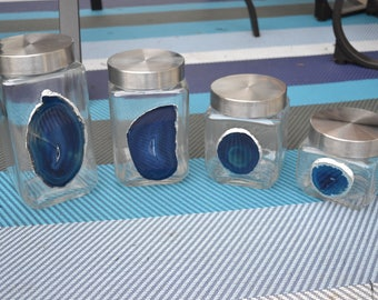 Set of Four Jars