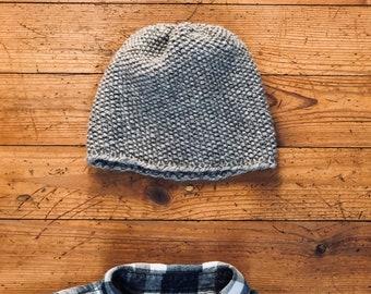 Spring beanie-wool beanie-knitted beanie