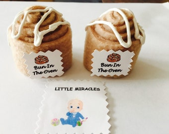 LM 40 Bun In The Oven Baby Shower Favor Game