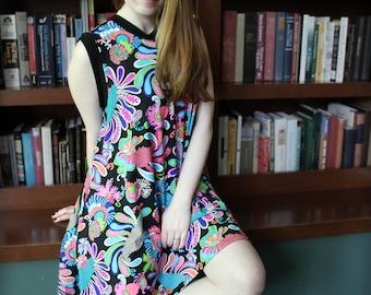 Swing Dress - Mod Fancy Bright