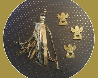 Gold Charm Tassel