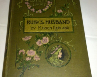 Antiquarian book Ruby's Husband, by Marion Harland 1876