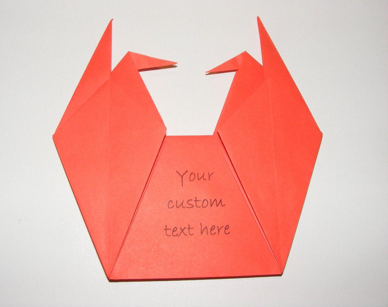 Origami envelope for wedding invitation Envelope for baby