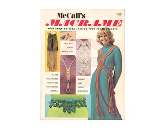 McCall's Macrame 1972 Instant Download PDF 64 pages