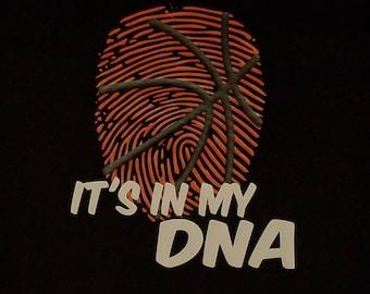 Softball Baseball Baskeyball Tee Ball DNA T Shirt