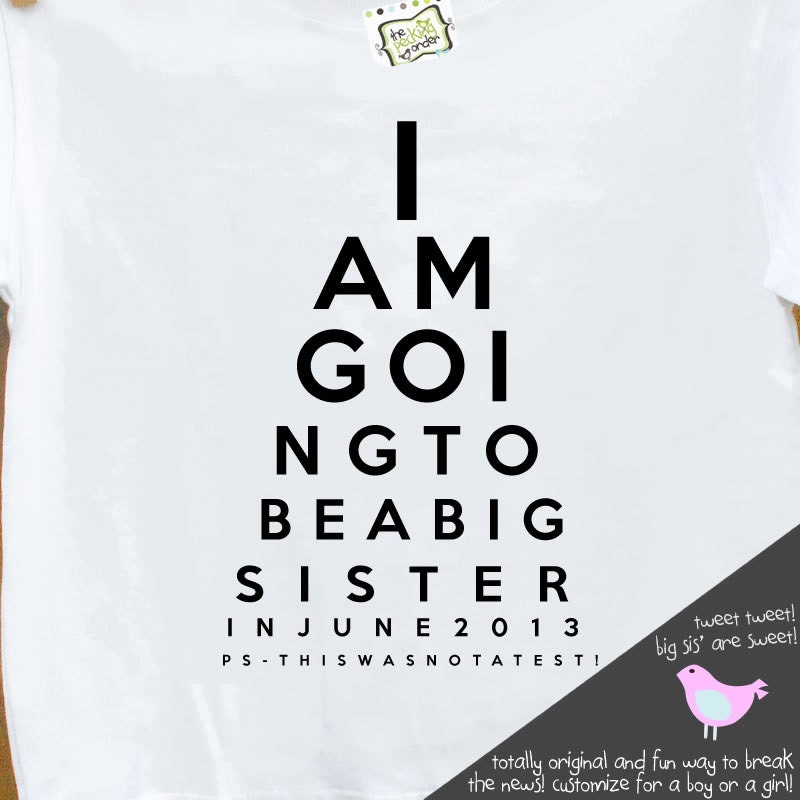 Buy Big Sister Announcement Shirts 59 Off