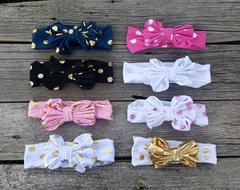Baby Girl Headband, Baby Headbands, Knot Headband, Bow Head band, Turban Headband, Baby Bows, Toddler Headband, Girl Headband, Knot Bow,Girl