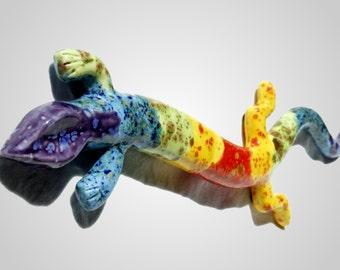 The Orignal Tie Dye Gecko - 18 Inch Long Gecko