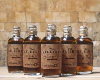 Corked mini bottles   Etsy