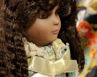 Stacy Vintage Porcelain Doll