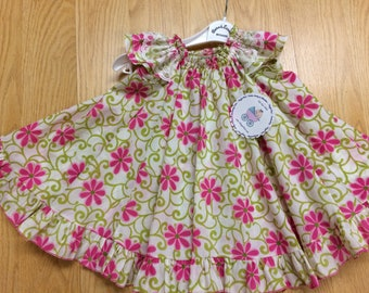Flutter Sleeve Twirl Dress