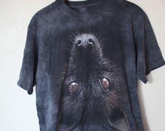 vintage black bat t shirt