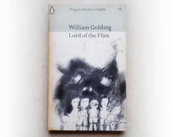 William Golding - Lord of the Flies - Penguin vintage paperback book - 1964