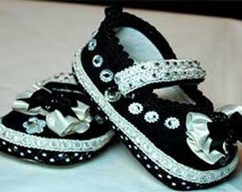 Rhianna Girl's Baby Shoes 6-12 months