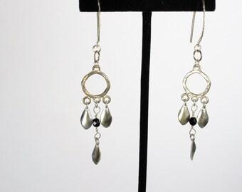 Sterling Silver Earrings, Sterling Silver Dangle Earrings