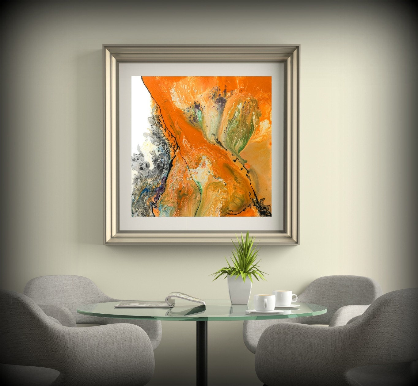 wall decor fall all into living walls styles orange room for accents