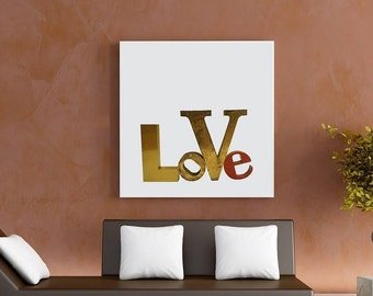 Furniture Letters of different sizes-vintage and aged metal letters of course-lettering interior Design