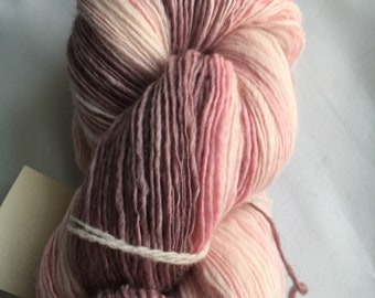 Handspun Yarn: Heirloom Roses