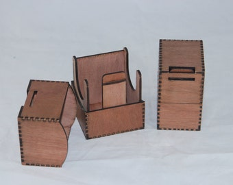 CCG - Card Deck Box - for any collectible card game!  CCG deck box - tournament