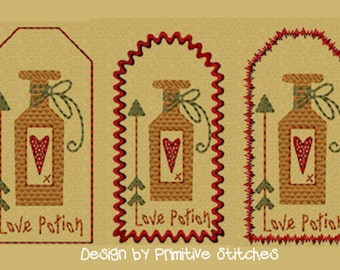 MACHINE EMBROIDERY-Keeper Of My Heart-Tag 3-Fill-4x4-Instant Download
