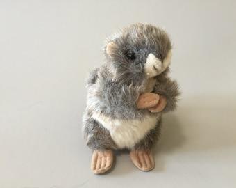 STUFFED BROWN SQUIRREL, vintage stuffed animal,light brown stuffed squirrel,collectible toy,gift for child,stuffed squirrel,cute stuffed toy