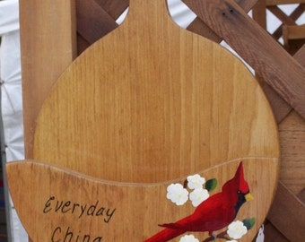 paper plate holder wooden plate holder cardinal holder picnic plate holder c& : paper plates holder - pezcame.com