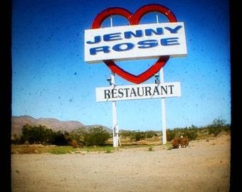 Jenny Rose - 8x8 Fine Art Photographic Print