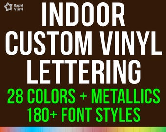 Custom Vinyl Text, Name, Quote, or Lettering Wall Decal. Wall Art - Personalized Decal - Removable