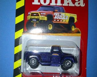 Tonka 1956 Pick Up Truck 1/64th Diecast new on card